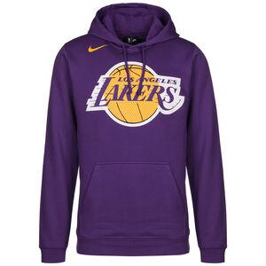Los Angeles Lakers Logo Kapuzenpullover Herren, lila / gelb, zoom bei OUTFITTER Online