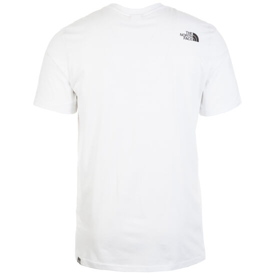 Simple Dome T-Shirt Herren, weiß, zoom bei OUTFITTER Online