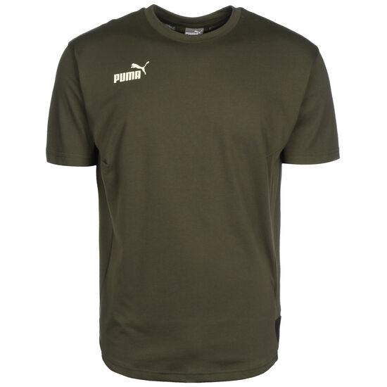 ftblNXT Casuals Trainingsshirt Herren, dunkelgrün / schwarz, zoom bei OUTFITTER Online