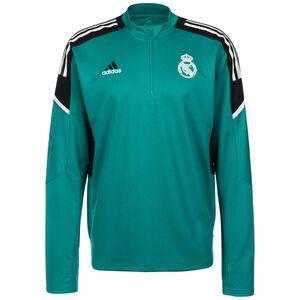 Real Madrid Trainingssweat Herren, petrol / schwarz, zoom bei OUTFITTER Online