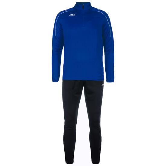 Classico Trainingsanzug Herren, blau / schwarz, zoom bei OUTFITTER Online