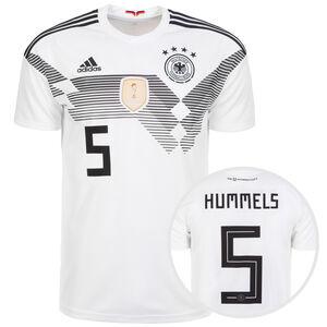DFB Trikot Home Hummels WM 2018 Herren, Weiß, zoom bei OUTFITTER Online