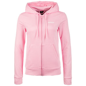 Essentials Solid Kapuzenjacke Damen, rosa, zoom bei OUTFITTER Online
