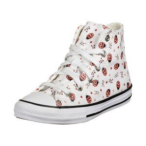 Chuck Taylor All Star Sneaker Kinder, weiß / rot, zoom bei OUTFITTER Online