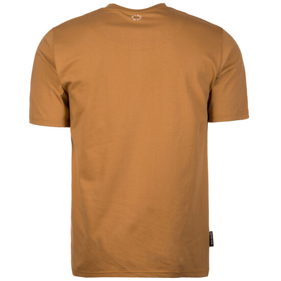 Classic Label Outline T-Shirt Herren, hellbraun, zoom bei OUTFITTER Online