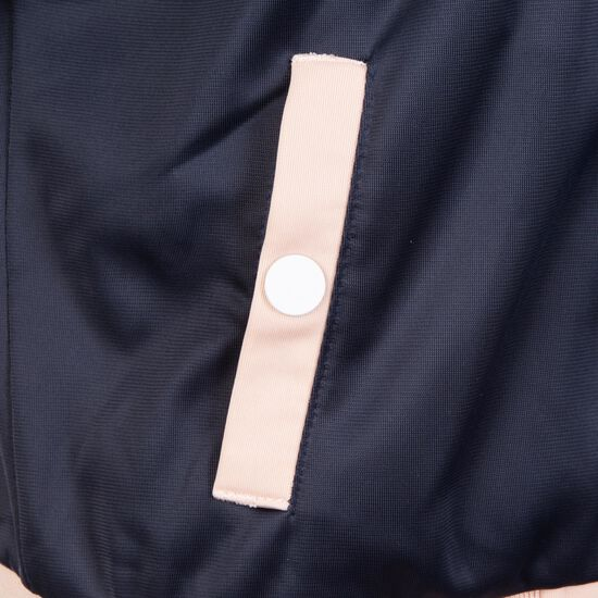 Button Up Track Jacke Damen, Blau, zoom bei OUTFITTER Online