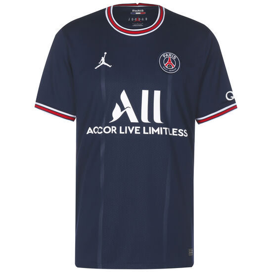 Paris St.-Germain Trikot Home Stadium 2021/2022 Herren, dunkelblau / rot, zoom bei OUTFITTER Online