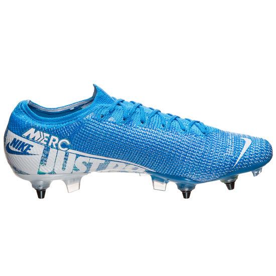 Mercurial Vapor XIII Elite SG-Pro AC Fußballschuh Herren, blau / weiß, zoom bei OUTFITTER Online