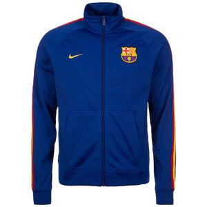 FC Barcelona Track Trainingsjacke Herren, Blau, zoom bei OUTFITTER Online