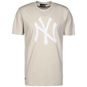 MLB New York Yankees Seasonal Team Logo T-Shirt Herren, beige / weiß, zoom bei OUTFITTER Online