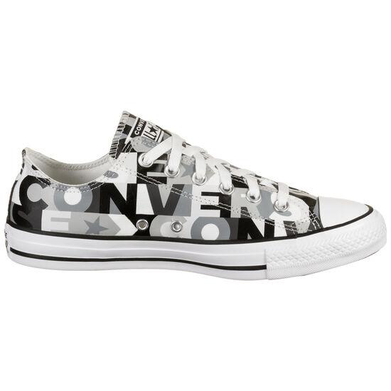 Chuck Taylor All Star OX Sneaker, schwarz / weiß, zoom bei OUTFITTER Online