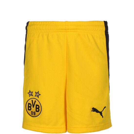 Borussia Dortmund Short Home 2020/2021 Kinder, gelb / schwarz, zoom bei OUTFITTER Online