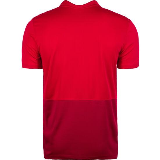 Poly Poloshirt Herren, rot / dunkelrot, zoom bei OUTFITTER Online