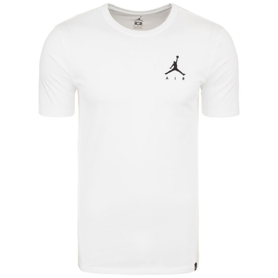 Jordan Jumpman Embroidered Air Herrenshirt, weiß / schwarz, zoom bei OUTFITTER Online