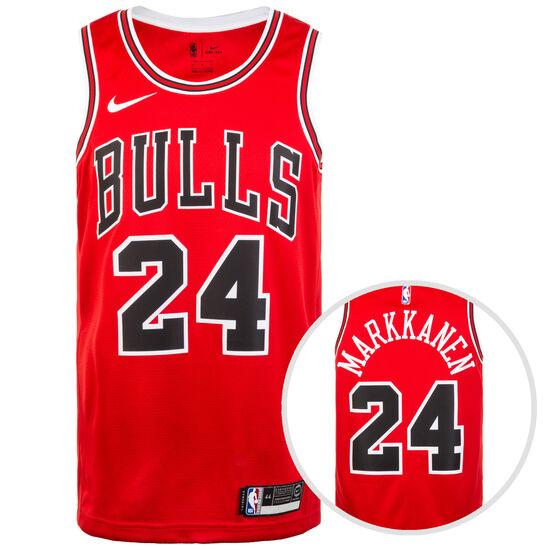 Chicago Buls NBA Swingman Basketballtrikot Herren, rot / weiß, zoom bei OUTFITTER Online