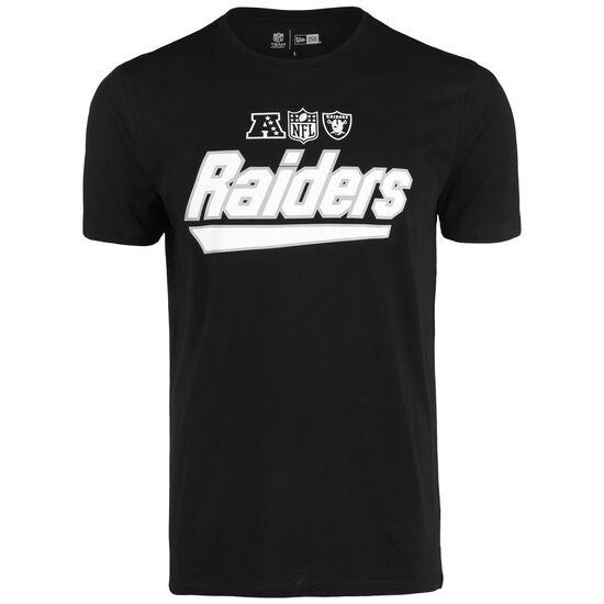 NFL Wordmark Oakland Raiders T-Shirt Herren, schwarz / weiß, zoom bei OUTFITTER Online