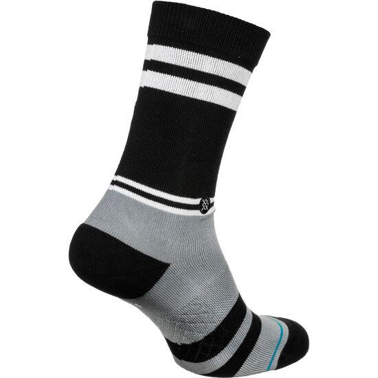 Raiders Logo Socken, schwarz / grau, zoom bei OUTFITTER Online