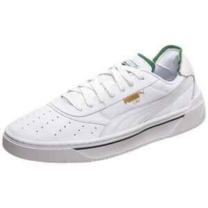 Cali-0 Sneaker Herren, weiß / grün, zoom bei OUTFITTER Online