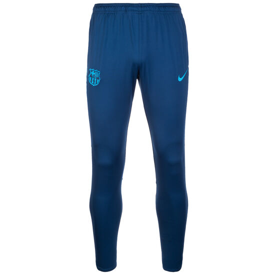 Dry Squad FC Barcelona Trainingshose Herren, petrol / hellblau, zoom bei OUTFITTER Online