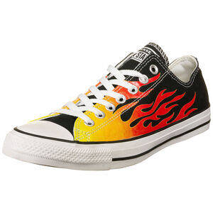 Chuck Taylor All Star Canvas Archive OX Sneaker, schwarz / rot, zoom bei OUTFITTER Online