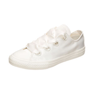 Chuck Taylor All Star Big Eyelet Satin Ox Sneaker Kinder, Beige, zoom bei OUTFITTER Online