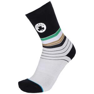 NBA Boston Celtics Baseline Socken Herren, weiß / schwarz, zoom bei OUTFITTER Online