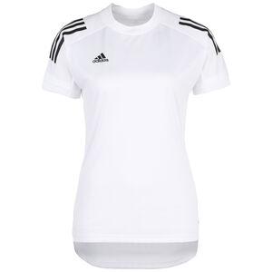 Condivo 20 Trainingsshirt Damen, weiß / schwarz, zoom bei OUTFITTER Online