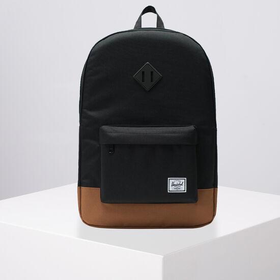 Heritage Rucksack, schwarz / braun, zoom bei OUTFITTER Online