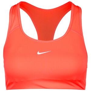 Swoosh Padded Sport-BH Damen, orange / weiß, zoom bei OUTFITTER Online