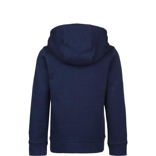 Club Fleece Kapuzenpullover Kinder, dunkelblau / blau, zoom bei OUTFITTER Online