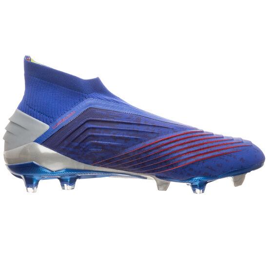 Predator 19+ FG Fußballschuh Herren, blau / rot, zoom bei OUTFITTER Online