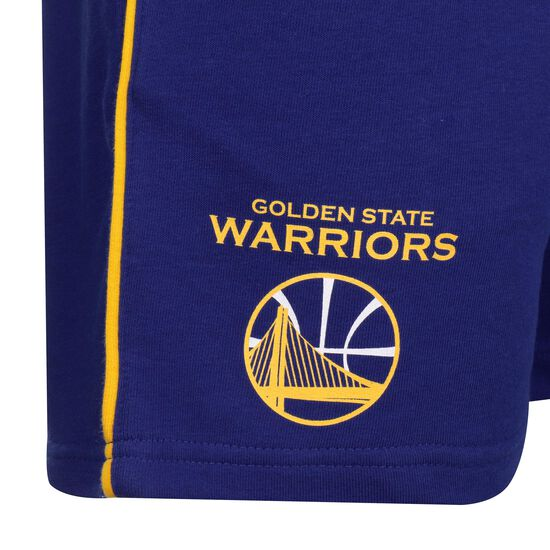 NBA Golden State Warriors Stripe Piping Basketballshort Herren, dunkelblau, zoom bei OUTFITTER Online