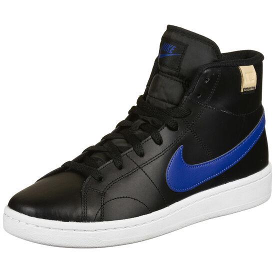 Court Royale 2 Mid Sneaker Herren, schwarz / blau, zoom bei OUTFITTER Online