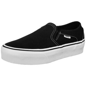 Asher Platform Sneaker Damen, schwarz / weiß, zoom bei OUTFITTER Online