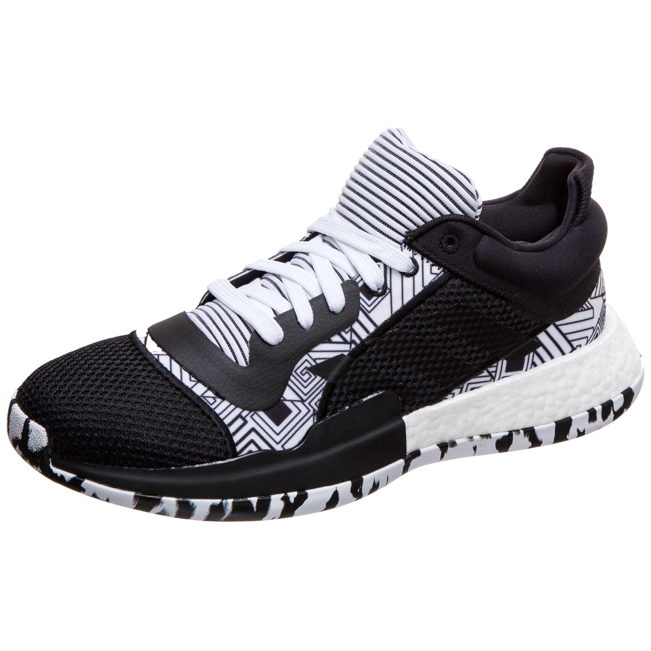 MARQUEE BOOST LOW Adidas, schwarz