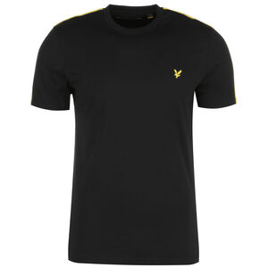 Taped T-Shirt Herren, schwarz, zoom bei OUTFITTER Online