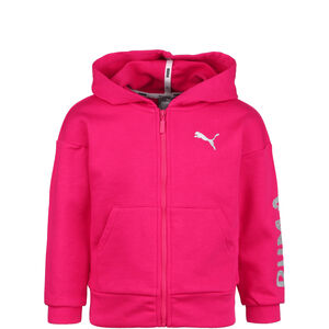 Alpha Kapuzensweatjacke Kinder, rosa, zoom bei OUTFITTER Online