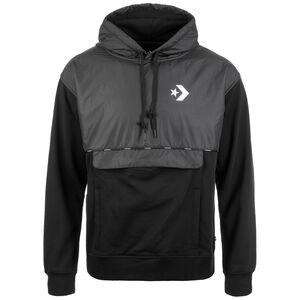 Star Chevron Front Pocket Kapuzenpullover Herren, schwarz / weiß, zoom bei OUTFITTER Online