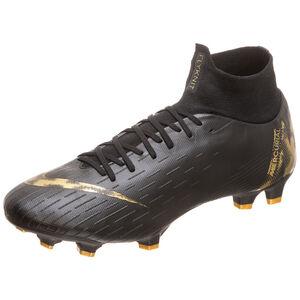 Mercurial Superfly VI Pro FG Fußballschuh Herren, schwarz / gold, zoom bei OUTFITTER Online
