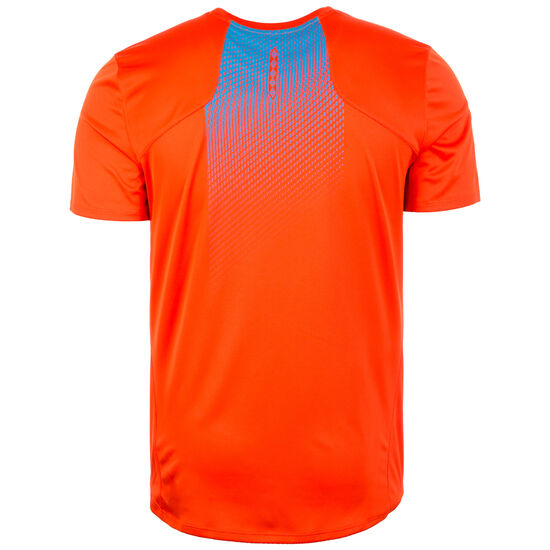 Silo Poly Trainingsshirt Herren, rot / blau, zoom bei OUTFITTER Online