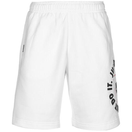 JDI Fleece Shorts Herren, weiß / schwarz, zoom bei OUTFITTER Online
