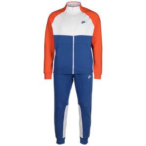 CE Fleece Jogginganzug Herren, blau / weiß, zoom bei OUTFITTER Online