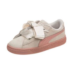 Suede Heart Jewel Sneaker Kleinkinder, Beige, zoom bei OUTFITTER Online