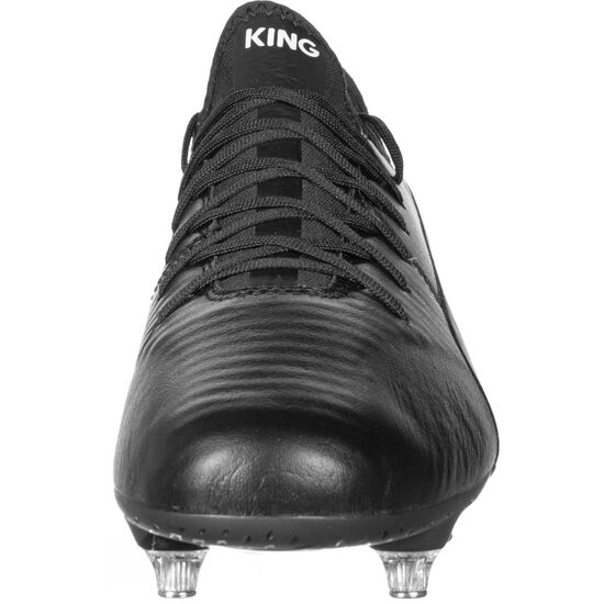 King Pro SG Fußballschuh Herren, schwarz / weiß, zoom bei OUTFITTER Online