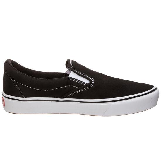 Slip-On ComfyCush Sneaker Damen, schwarz / weiß, zoom bei OUTFITTER Online