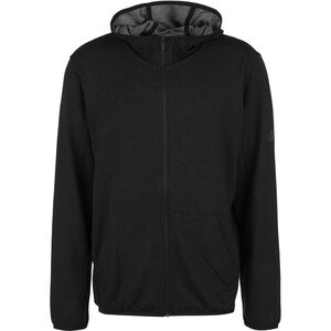 City Studio Fleece Trainingsjacke Herren, schwarz, zoom bei OUTFITTER Online