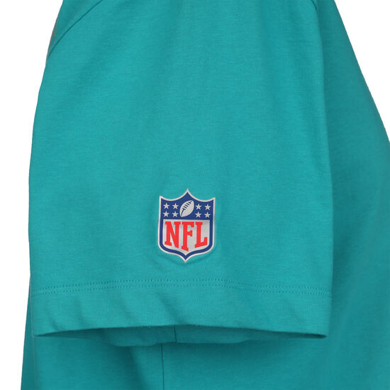 NFL Cotton Facility Miami Dolphins T-Shirt Herren, türkis, zoom bei OUTFITTER Online