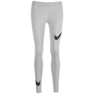 Leg-A-See Swoosh Leggings Damen, grau / schwarz, zoom bei OUTFITTER Online