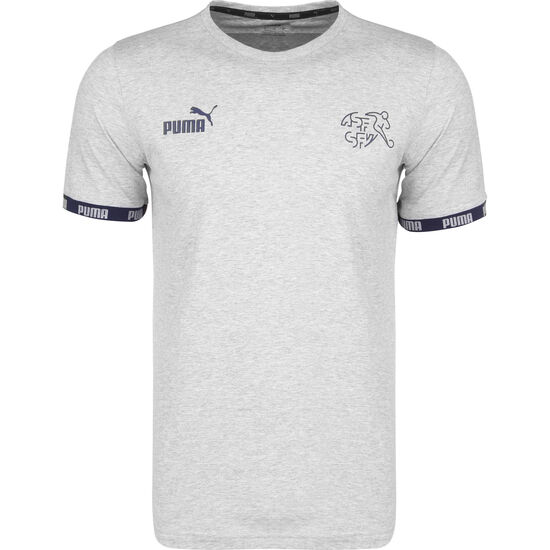 SFV Schweiz FtblCulture T-Shirt EM 2020 Herren, grau, zoom bei OUTFITTER Online