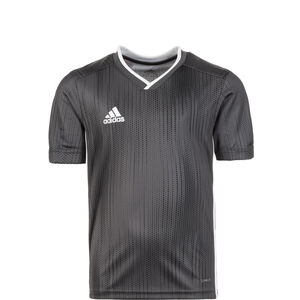 Tiro 19 Fußballtrikot Kinder, grau / weiß, zoom bei OUTFITTER Online